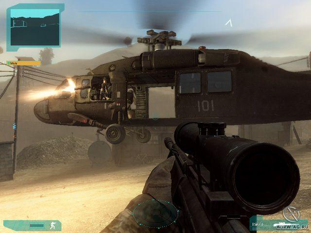 Tom Clancy's Ghost Recon Advanced Warfighter 2 screenshot