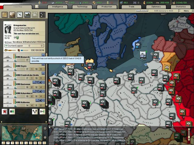 Arsenal of Democracy: A Hearts of Iron Game screenshot