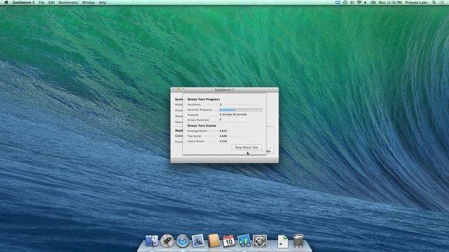 Geekbench 3 screenshot