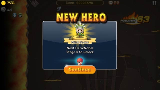 Hero Go screenshot