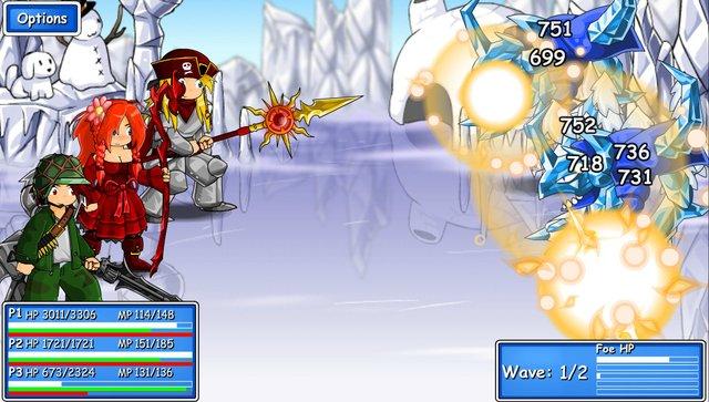 Epic Battle Fantasy 3 screenshot