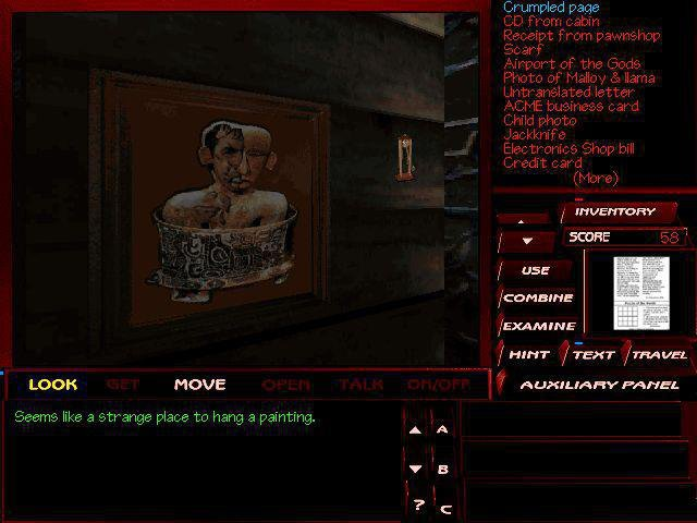 Tex Murphy: The Pandora Directive screenshot