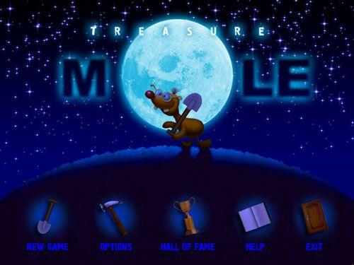 Treasure Mole: Winter Vacation screenshot