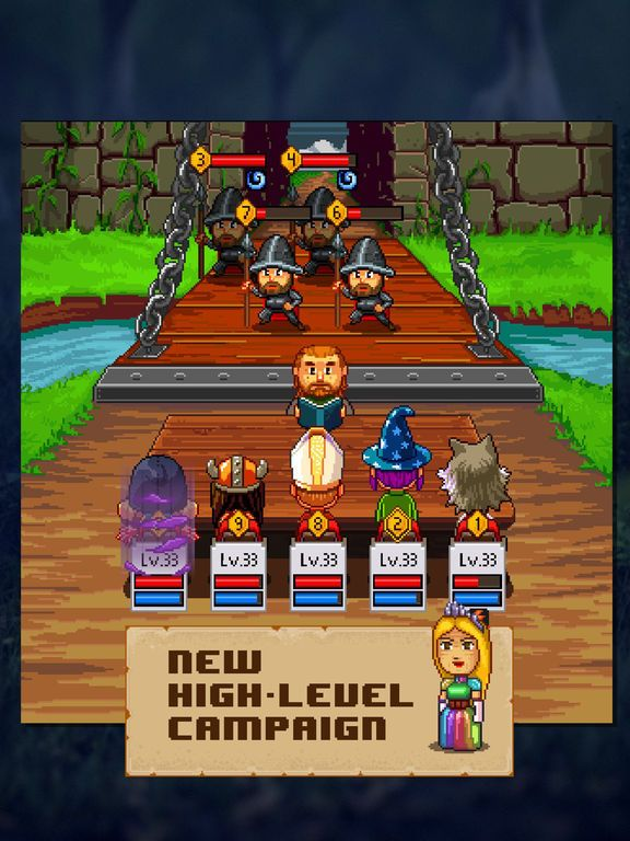 Knights of Pen and Paper 2 screenshot