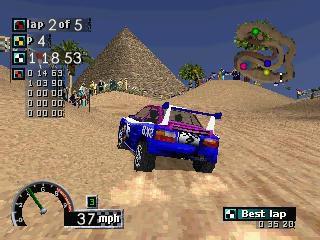 Rally Cross (1997) screenshot
