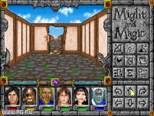 Might and Magic 4: Clouds of Xeen screenshot