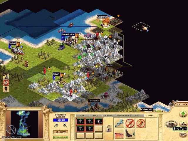 Civilization: Call to Power screenshot