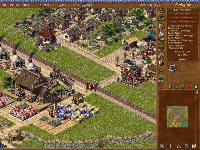 Emperor: Rise of the Middle Kingdom screenshot