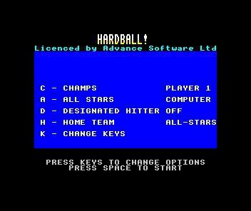 HardBall! screenshot