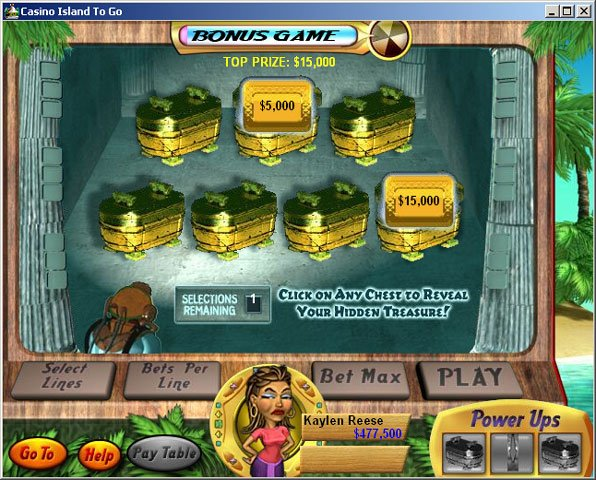 Casino Island to Go screenshot