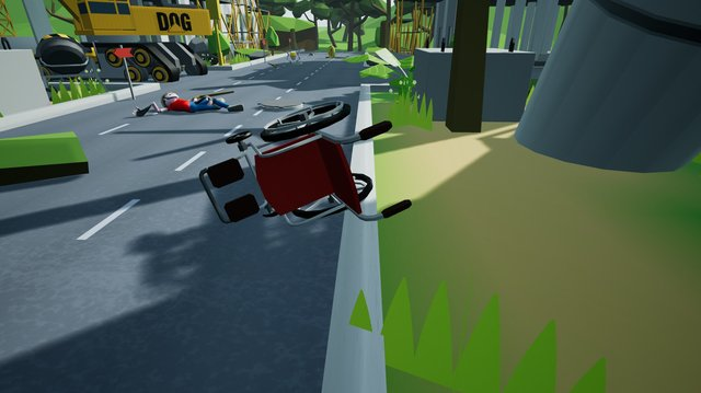 Wheelchair Simulator screenshot