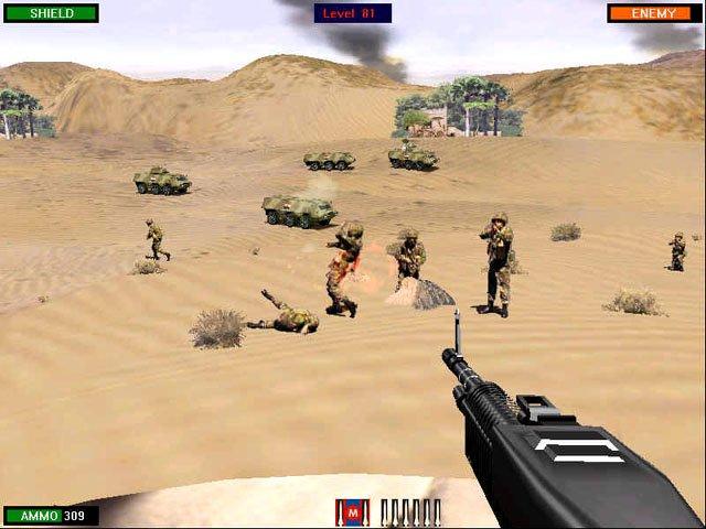 Beach Head Desert War screenshot