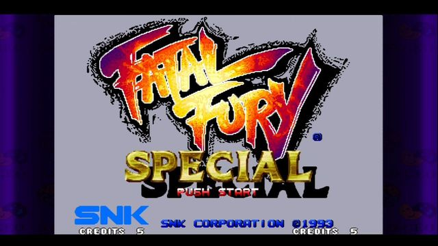 Fatal Fury Special (1993) screenshot