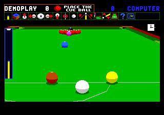 Jimmy White's 'Whirlwind' Snooker screenshot