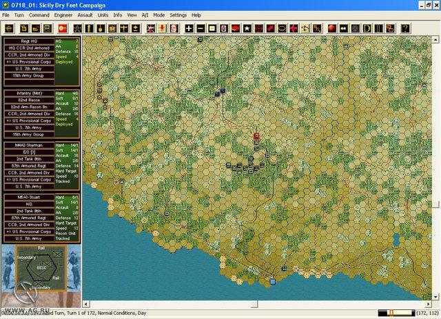 Panzer Campaigns: Sicily '43 screenshot
