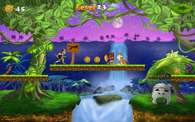 Run Boy: Jungle Adventures screenshot