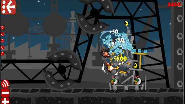Robot vs Birds Zombies screenshot