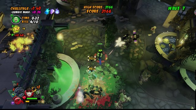 All Zombies Must Die! Scorepocalypse screenshot