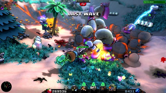 McDroid - Arcade Tower Defense screenshot