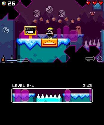 Mutant Mudds Super Challenge screenshot