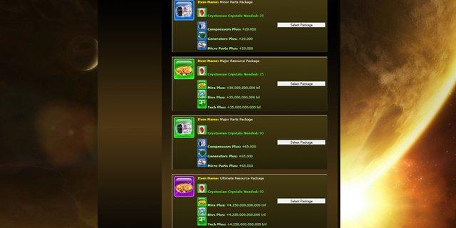 Fasaria World: Browser MO screenshot