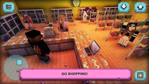 Girl's Life Craft: Shopping screenshot
