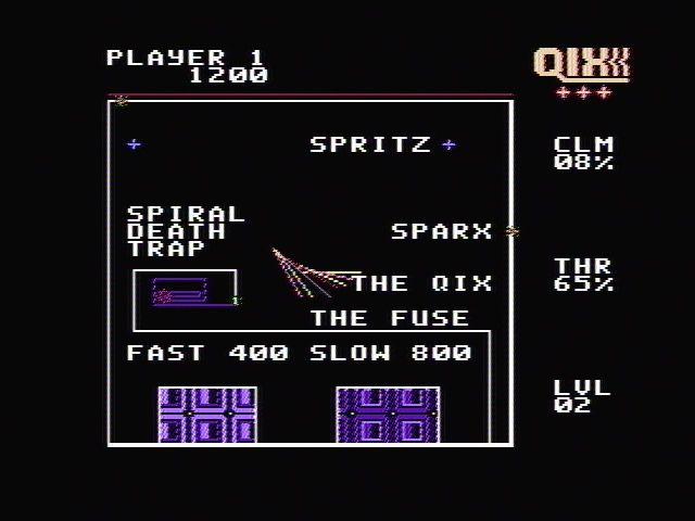 Qix (1990) screenshot
