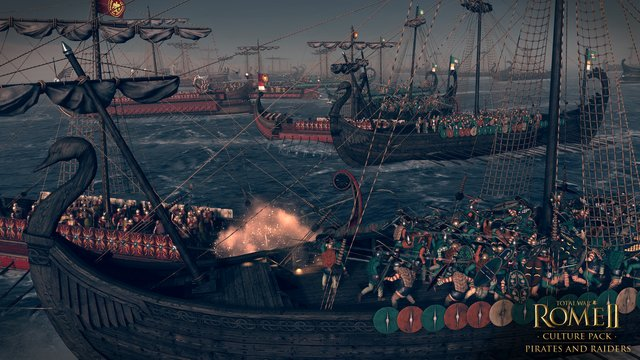 Total War: Rome II - Pirates and Raiders screenshot