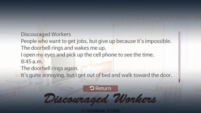 Discouraged Workers TEEN screenshot