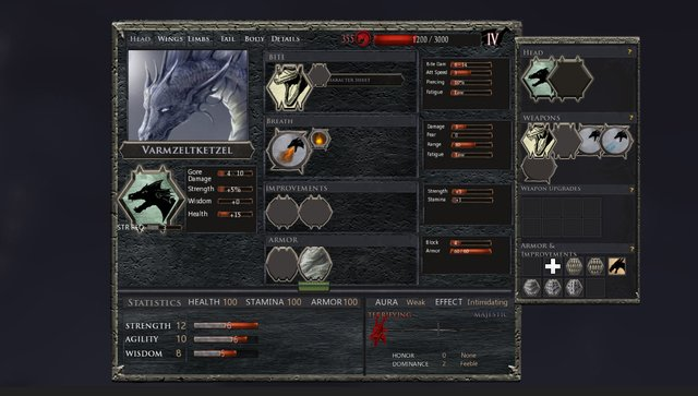 Dragon: The Game screenshot