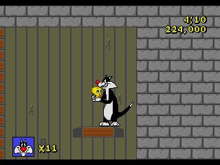 Sylvester and Tweety in Cagey Capers screenshot