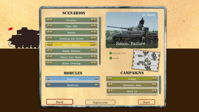 Tank On Tank Digital - West Front screenshot