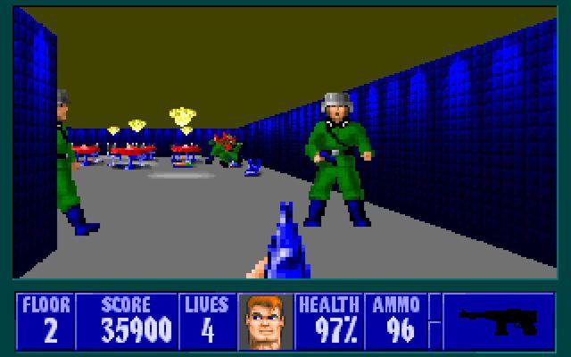 Wolfenstein 3D + Spear of Destiny screenshot