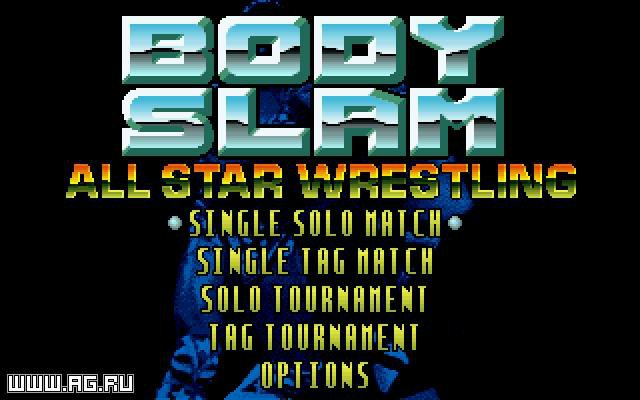 Body Slam All-Star Wrestling screenshot