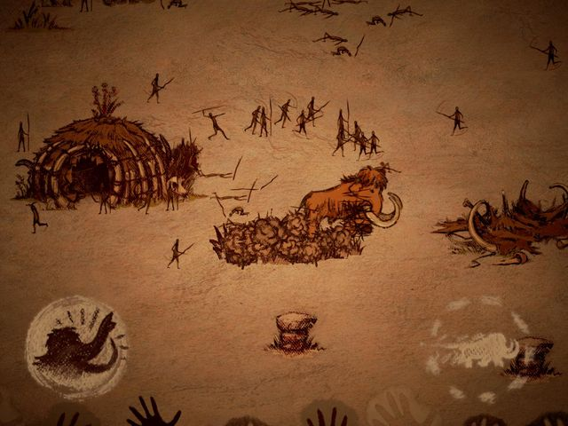 The Mammoth: A Cave Painting screenshot