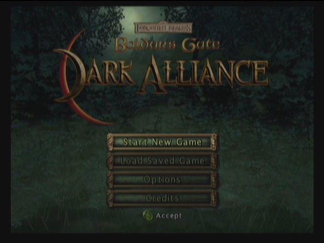Baldur's Gate: Dark Alliance screenshot