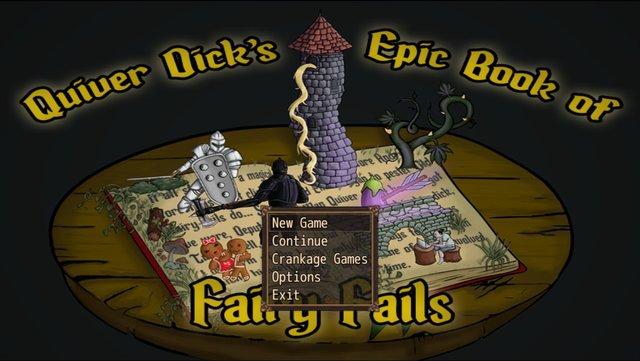 Quiver Dick's Epic Book of Fairy Fails screenshot