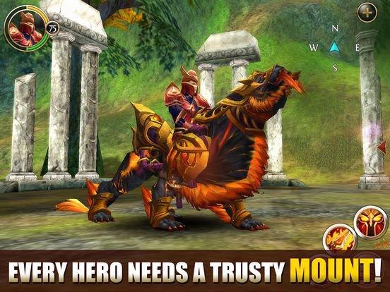 Войны хаоса и порядка Oнлайн (Gameloft) screenshot