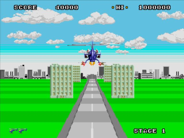 Super Thunder Blade (1988) screenshot