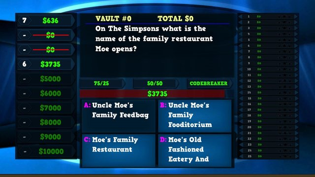 Trivia Vault: TV Trivia screenshot
