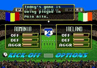 Pelé II: World Tournament Soccer screenshot