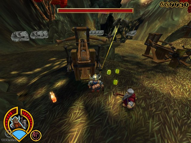 Храбрые гномы: Крадущиеся тени screenshot