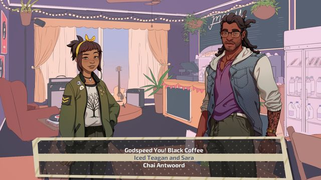Dream Daddy: A Dad Dating Simulator screenshot