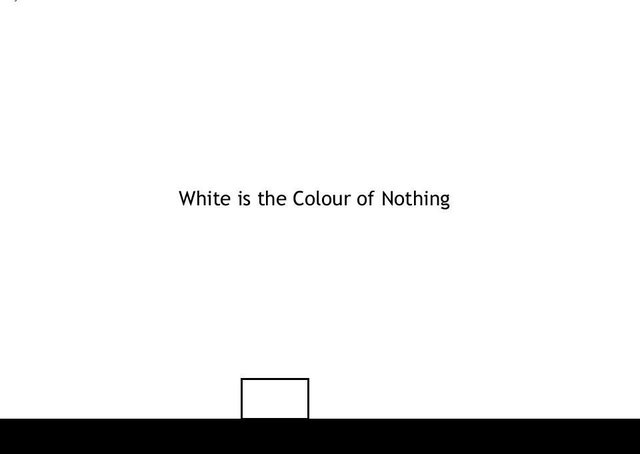 White is the Colour of Nothing screenshot