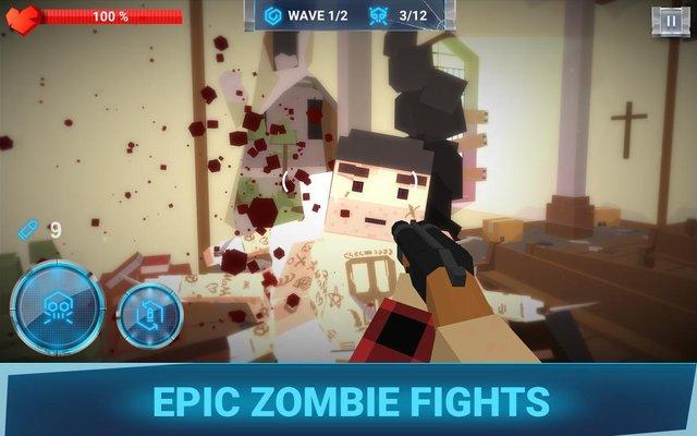 The walking zombie: Dead city screenshot