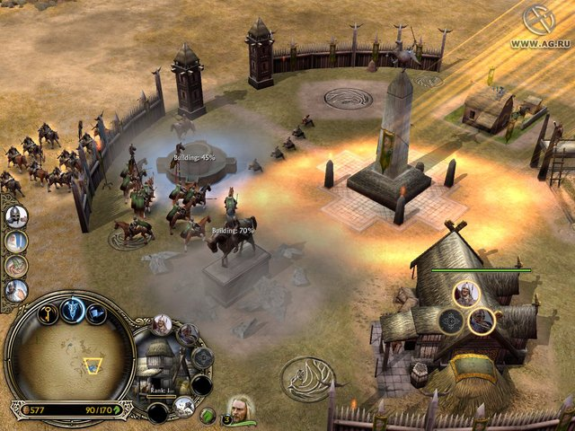 The Lord of the Rings: The Battle for Middle-earth screenshot