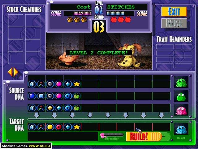 Cramgene screenshot
