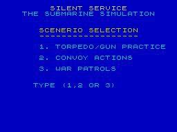 Silent Service (1985) screenshot
