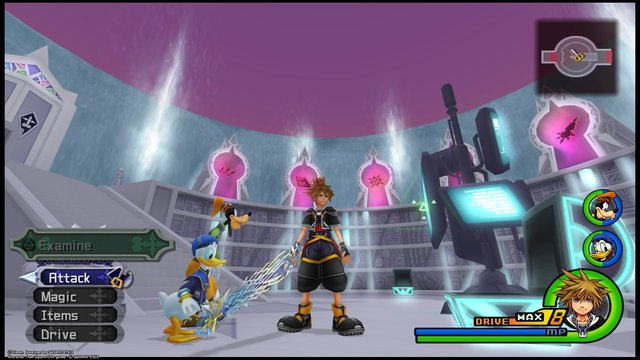 Kingdom Hearts II screenshot