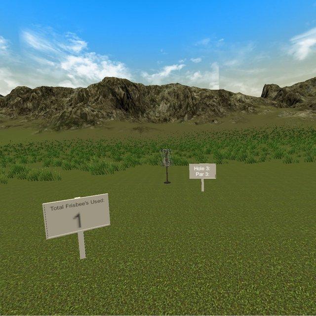 Disc Golf VR screenshot